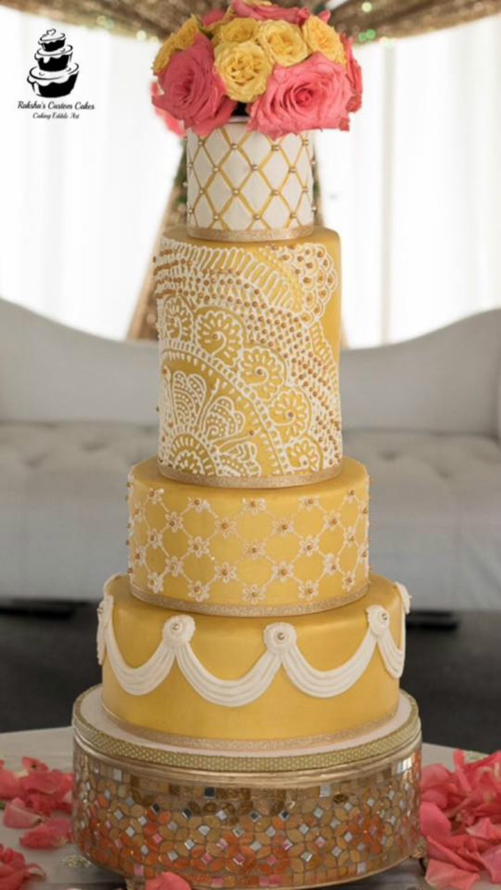 Raksha\'s Custom Cakes, rakshascustomcakes - Wedding Cakes