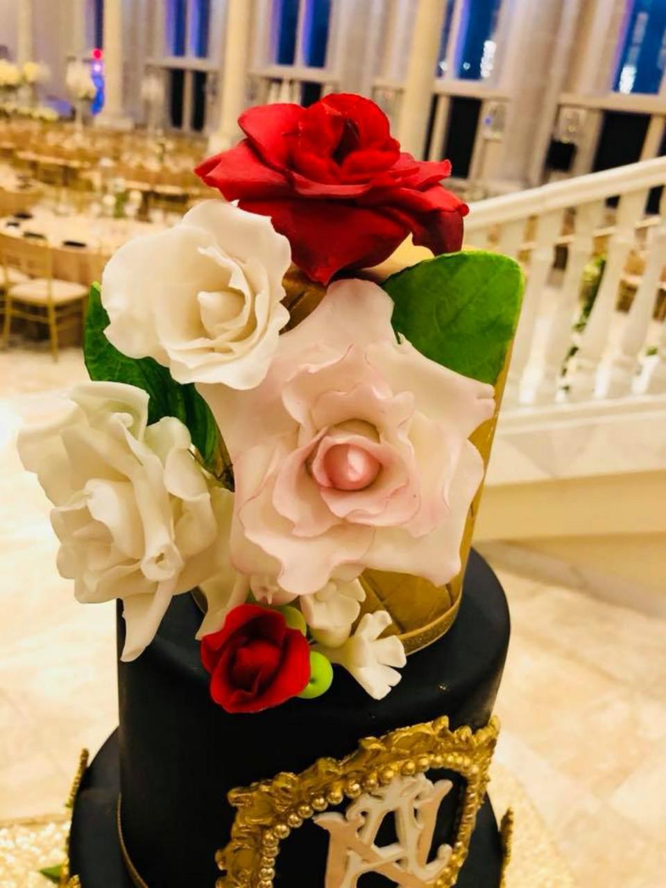 Raksha\'s Custom Cakes, rakshascustomcakes - Sugar flowers and Cake ...
